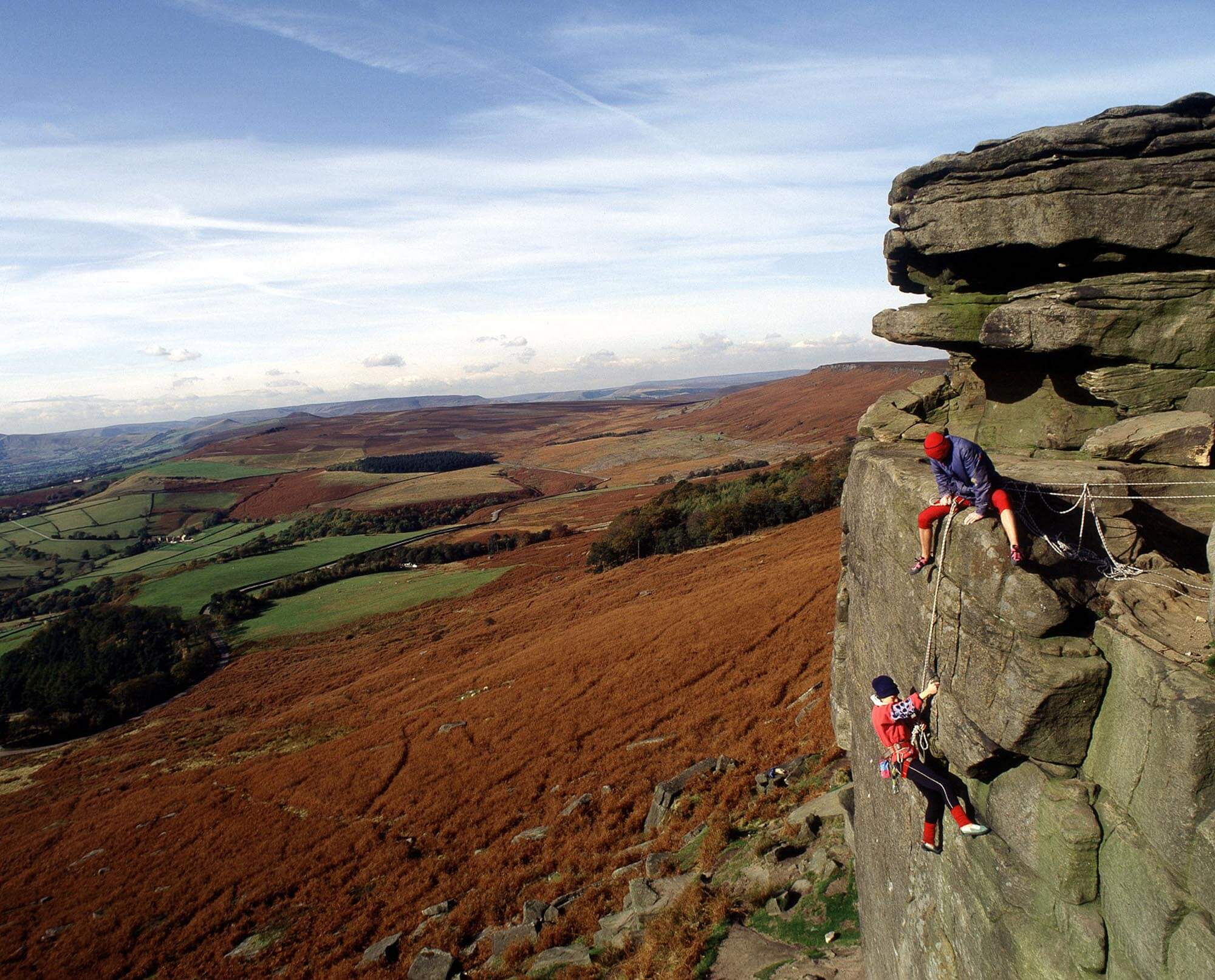 Things to do in North Yorkshire - rock climbing