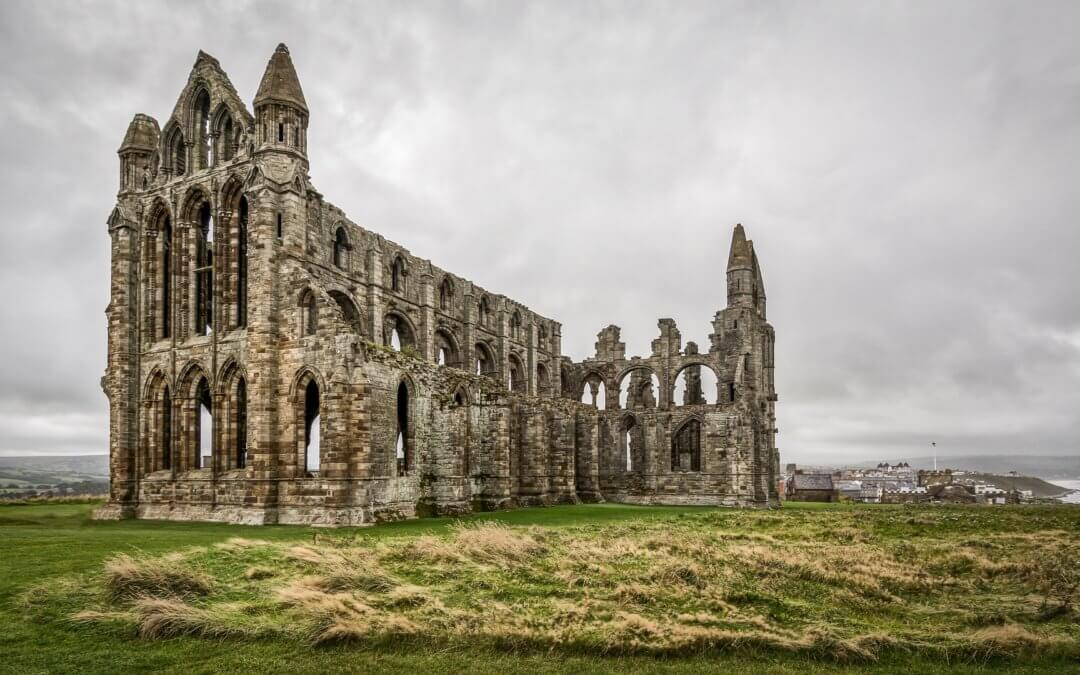 Whitby Abbey is one of the most romantic places in Yorkshire