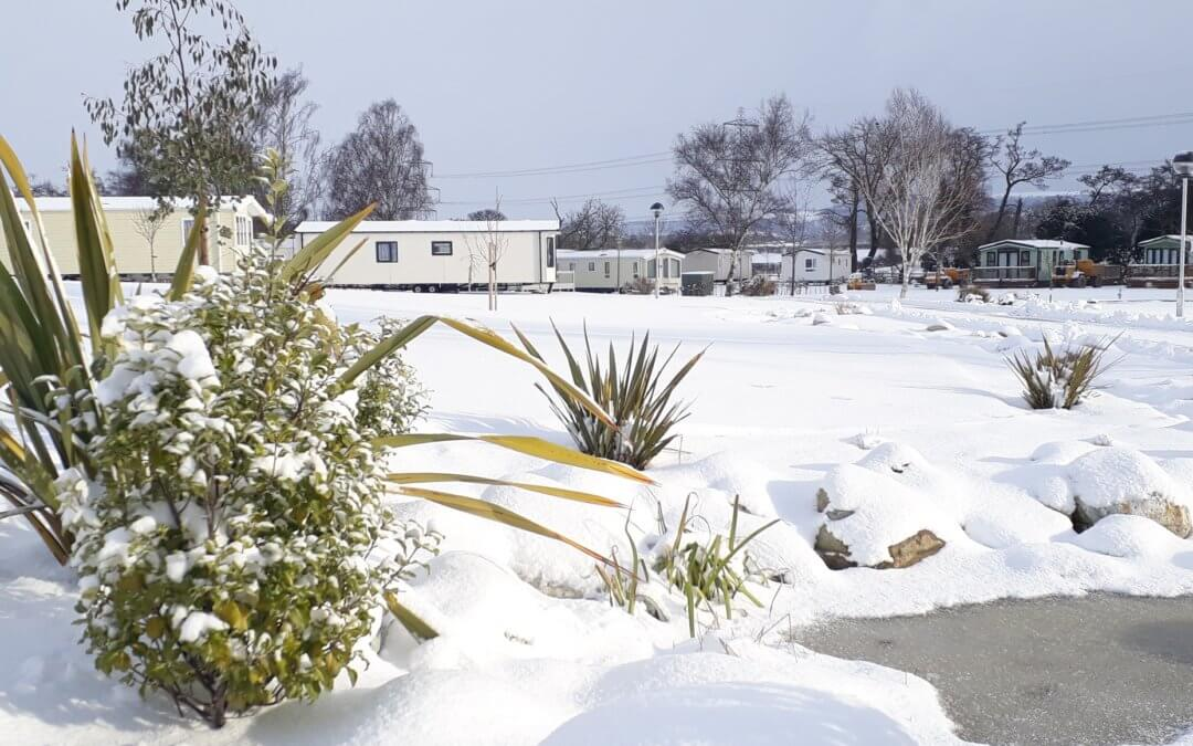 The Beast from the East strikes at York House Holiday Park