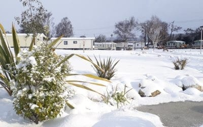 Enjoying the snow at YHL Parks