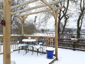 York House Holiday PArk after the Beast from the East