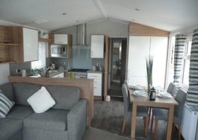 Willerby Granada 2017 Lounge Diner Kitchen