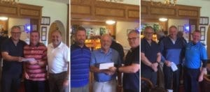 Winners of the Inter-Park Golf Tournament