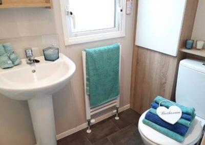 new 2019 Willerby Sierra Bathroom