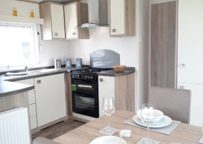 Hire Fleet Superior Caravan Kitchen