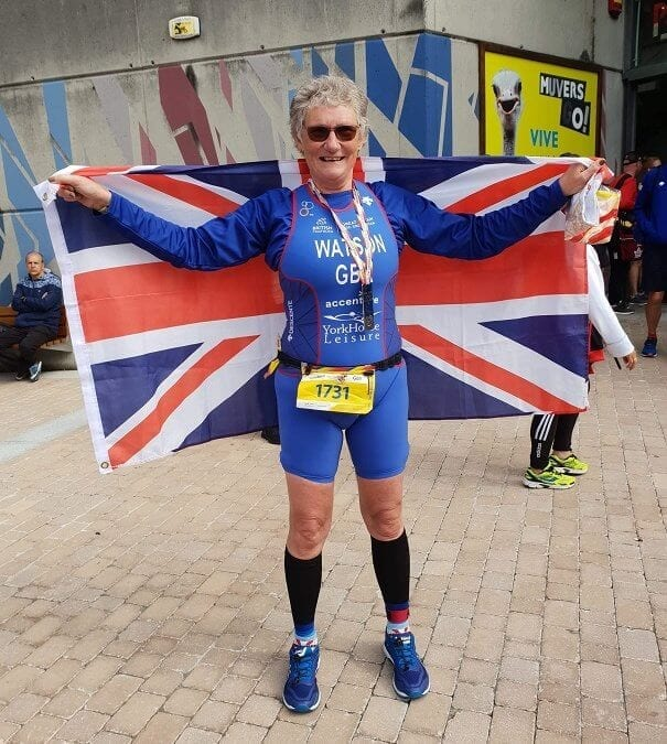 YHL Parks is proud to sponsor duathlete Sue Watson