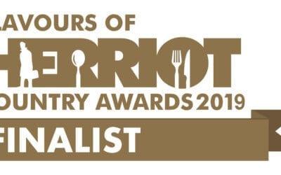 Triple finalist in the Herriot Awards!