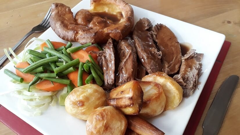 Sunday lunch at The Old Barn and a new Winter Menu