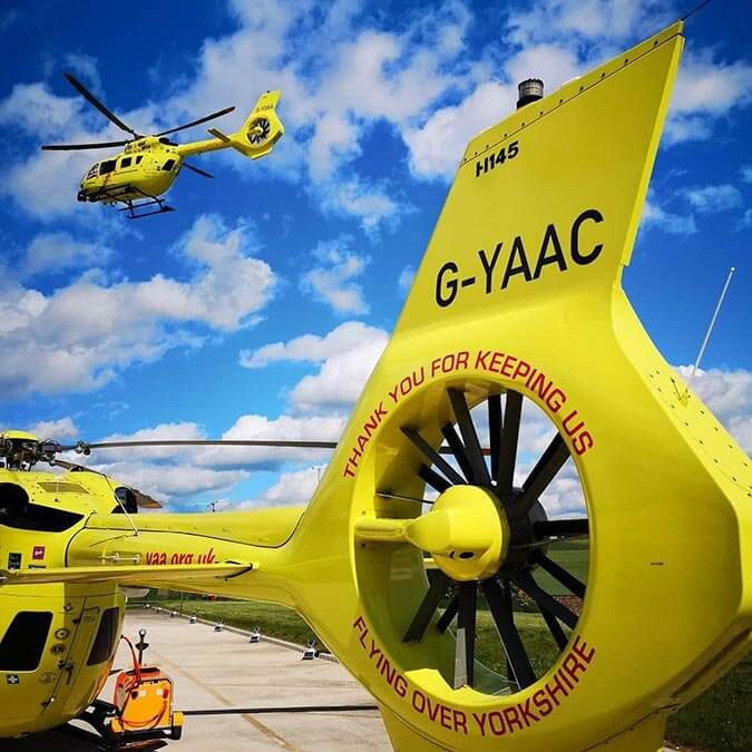 Swaleside receives a Community Fundraising Award from the YAA