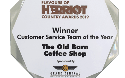 The Old Barn Coffee Shop wins a Herriot Award!