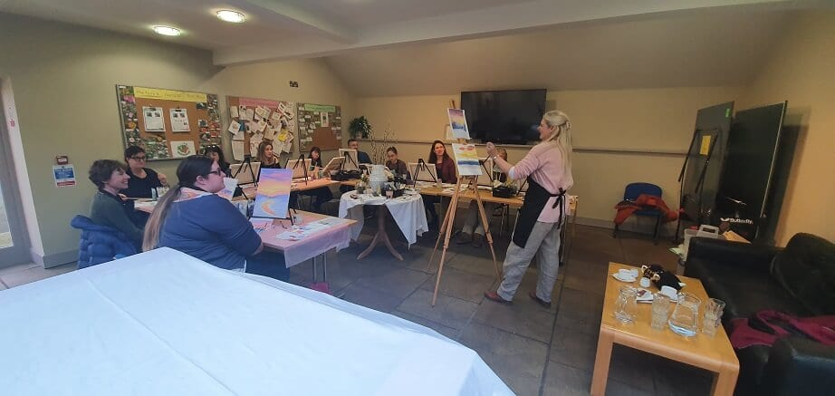 painting workshops thirsk