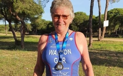 Sue wins gold at European Championships!