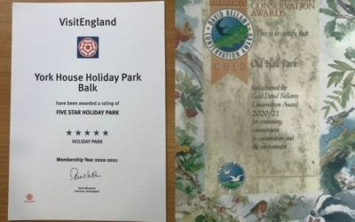 Holiday park excellence recognised once again